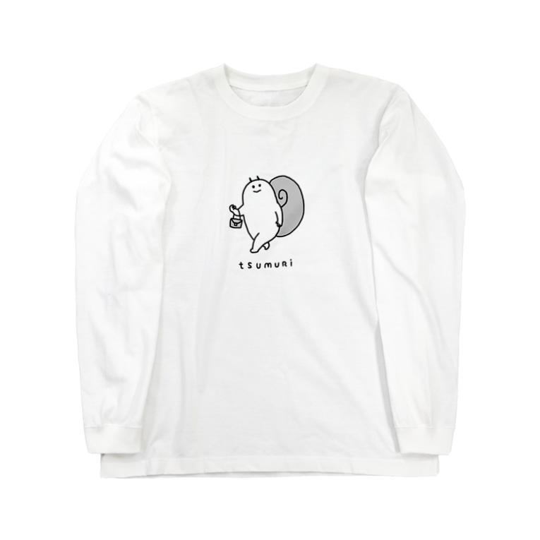 ふるえるとりのつむり Long Sleeve T-Shirt
