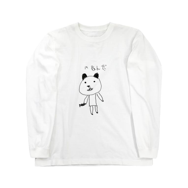 ochuuriのパあんだ Long sleeve T-shirts