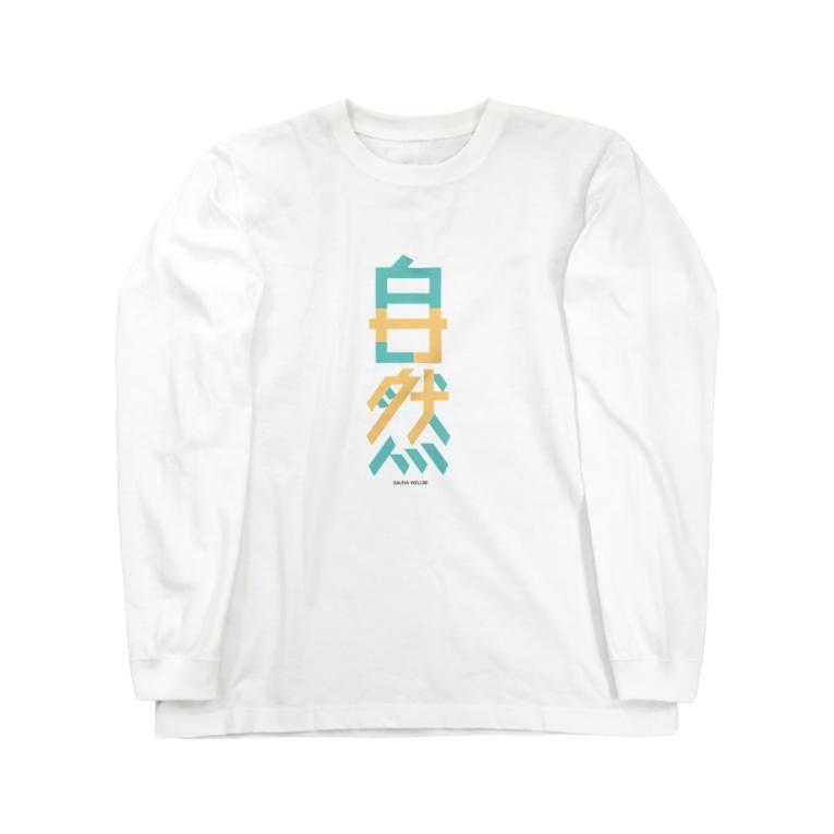 WellbeDesignLabのsazen Long sleeve T-shirts