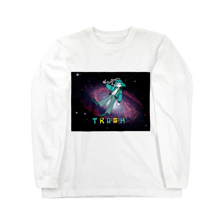 ⭕️我無のTRASH Long sleeve T-shirts