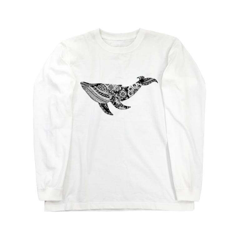 つかだ かおりのBotanical-Whele Long sleeve T-shirts