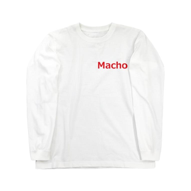 アメリカンベースのマッチョ Long sleeve T-shirts
