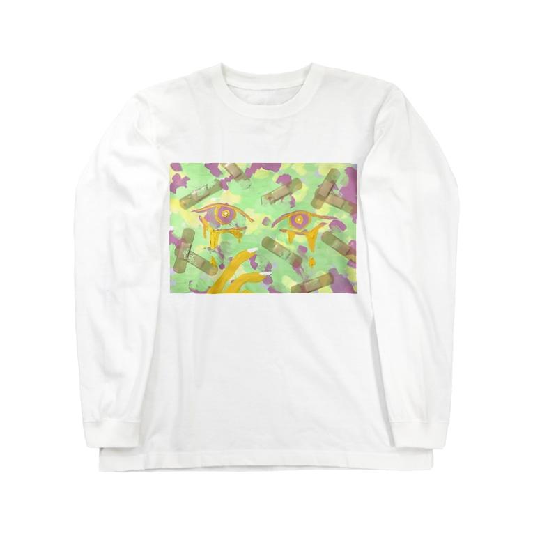 Livangrtのまもるからね Long sleeve T-shirts
