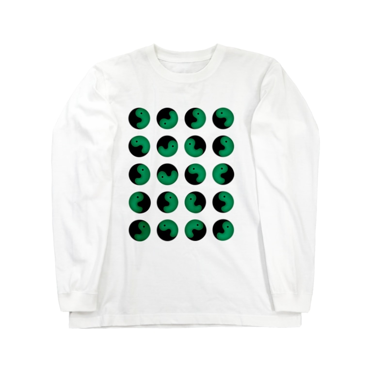 T-REXの勾玉君 Long sleeve T-shirts