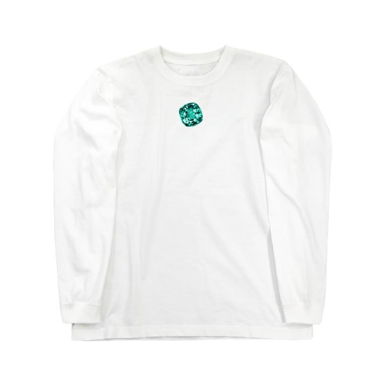 Sorapolice_pinopoliceの宝石3 Long sleeve T-shirts