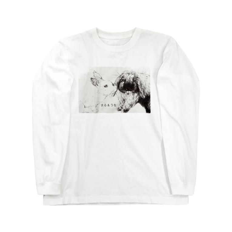 Gallery Neperoのちゅっ(まる&うを) Long sleeve T-shirts