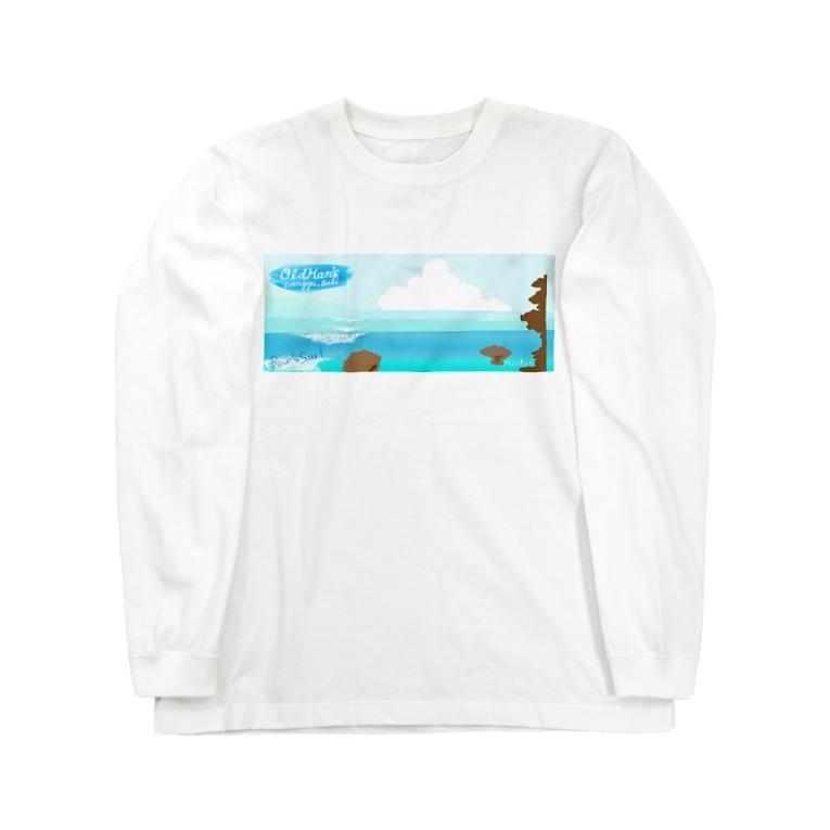 Bow's SurfのBatu Bolong Long sleeve T-shirts