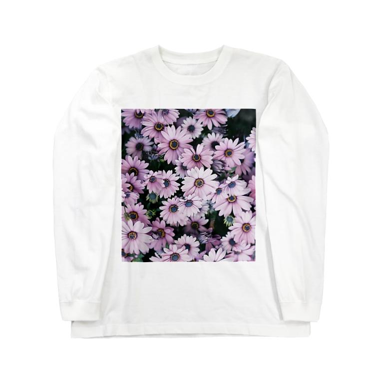 harucameraのharucamera キク科 Long sleeve T-shirts