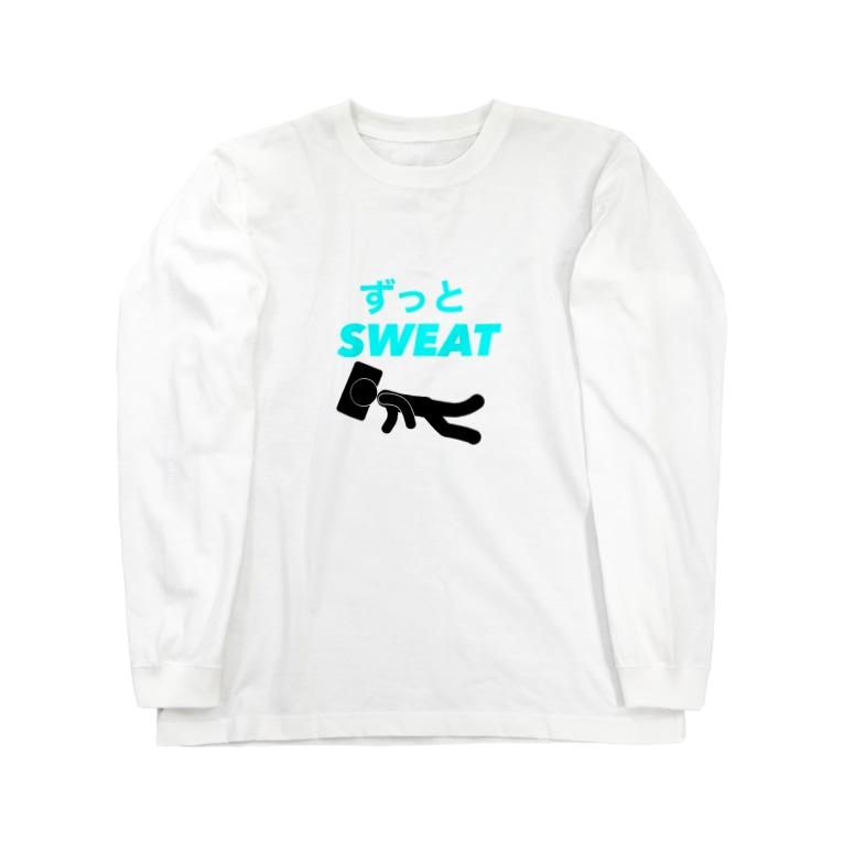 英語読めないさんの家のスポーツドリンクシリーズ Long sleeve T-shirts