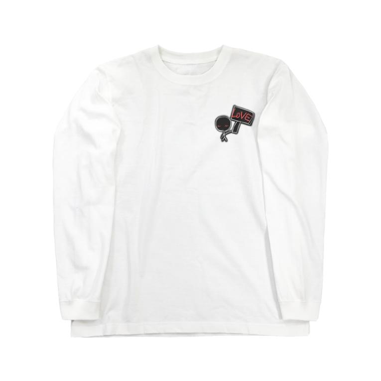 「It's me!」shopのlove Long sleeve T-shirts
