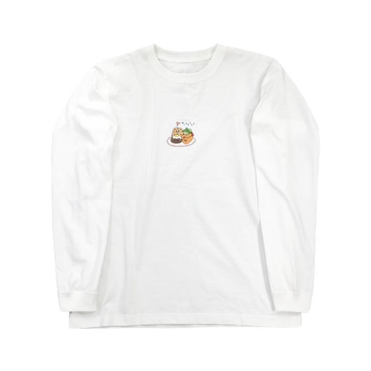 ヨピリズムストアのおこさまらんち Long sleeve T-shirts