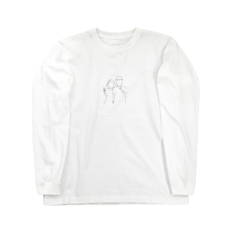 mahocyoriのpeace Long sleeve T-shirts