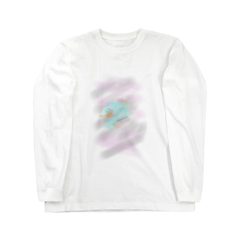 👼angel like a devil👿天悪ちゃんの御言葉 ロンT Long sleeve T-shirts