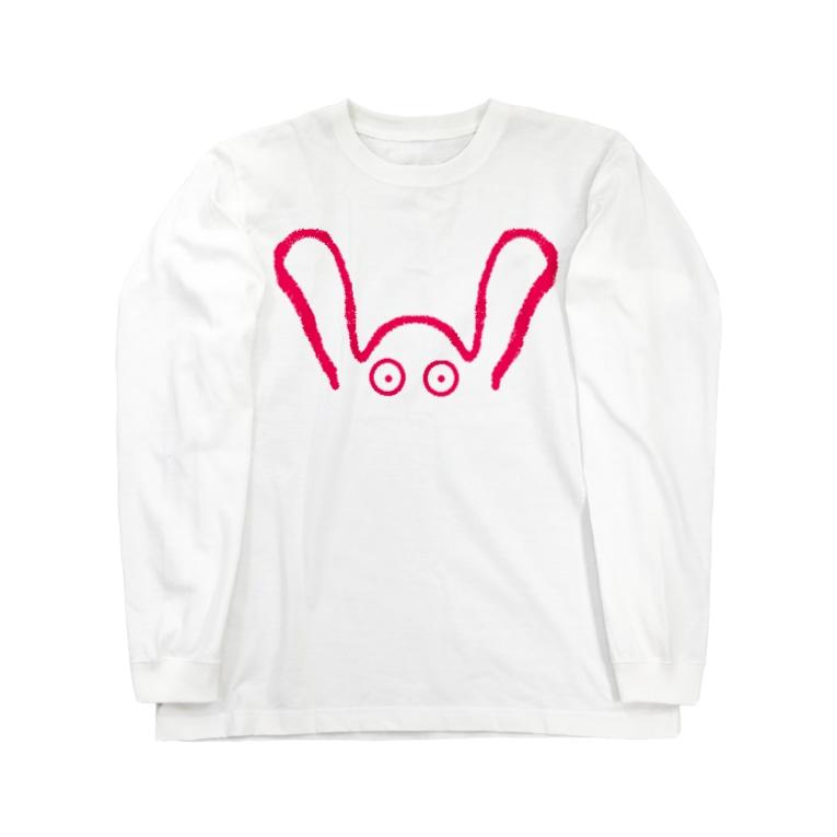 アメリカンベースのはっぴ~ ♪ Long sleeve T-shirts