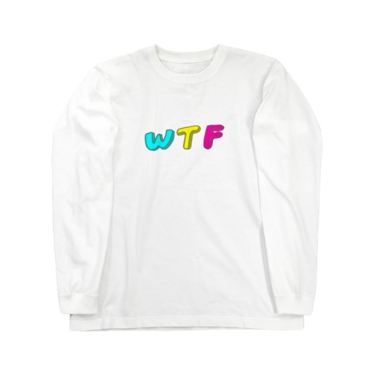 ザ・ライフ・オブ・ワタシのWTF Long sleeve T-shirts