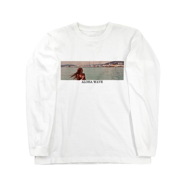 𓇼ALOHA WAVE𓇼のALOHA WAVE  Long sleeve T-shirts