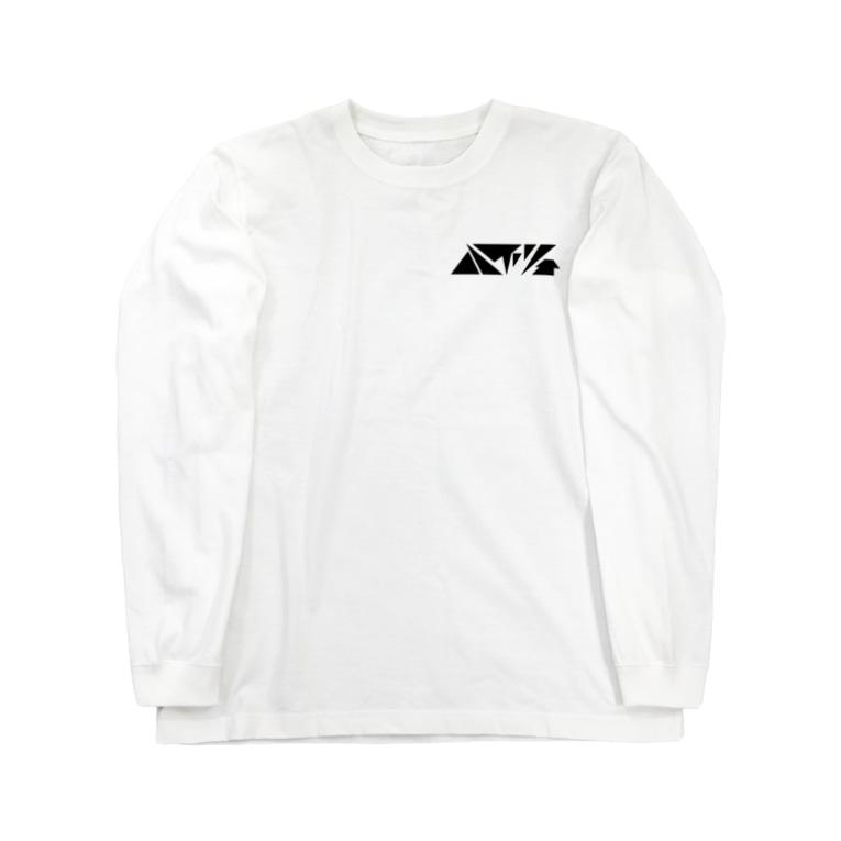 屋根裏ハイツのハイツ(黒文字) Long Sleeve T-Shirt