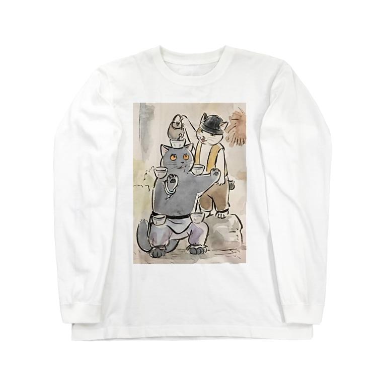 café Mo.freeのLong sleeve T-shirts