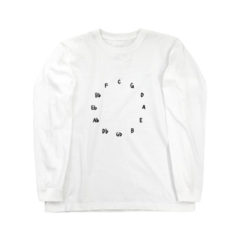 Yosumiの五度圏 / Circle of fifth Long Sleeve T-Shirt