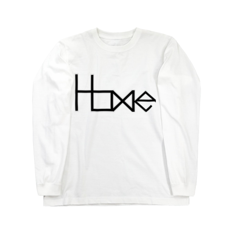 HOME公式ショップのHOME公式グッズ Long sleeve T-shirts