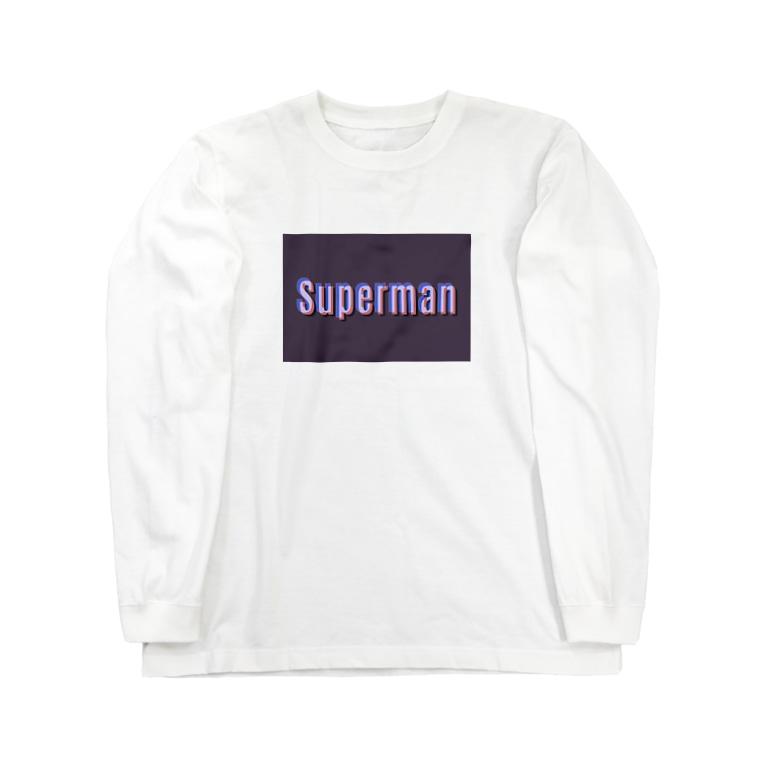 QB🦖のSPM_dp Long sleeve T-shirts