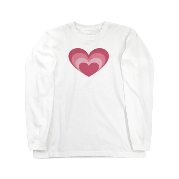 Mamolllluのロックオン Long sleeve T-shirts