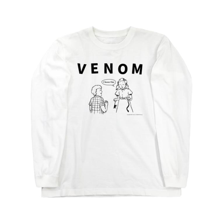VHS ARCHIVESのVENOM GIRL Long sleeve T-shirts