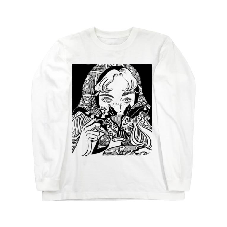 𝗬𝗨𝗞𝗔 𝗡𝗜𝗦𝗛𝗜𝗜𝗭𝗨𝗠𝗜の君と花 Long sleeve T-shirts