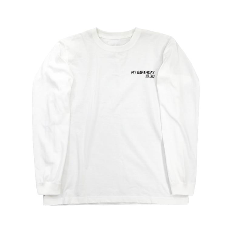 ワルトラの誕生日【10月30日】- ワルトラ Long sleeve T-shirts