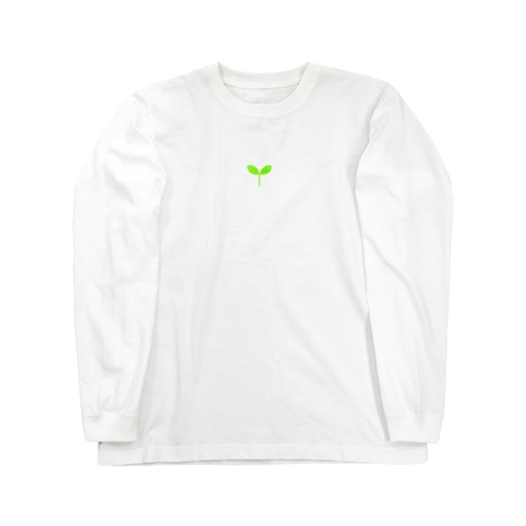 NPO法人NEXT CONEXIONのこどもの芽 Long sleeve T-shirts