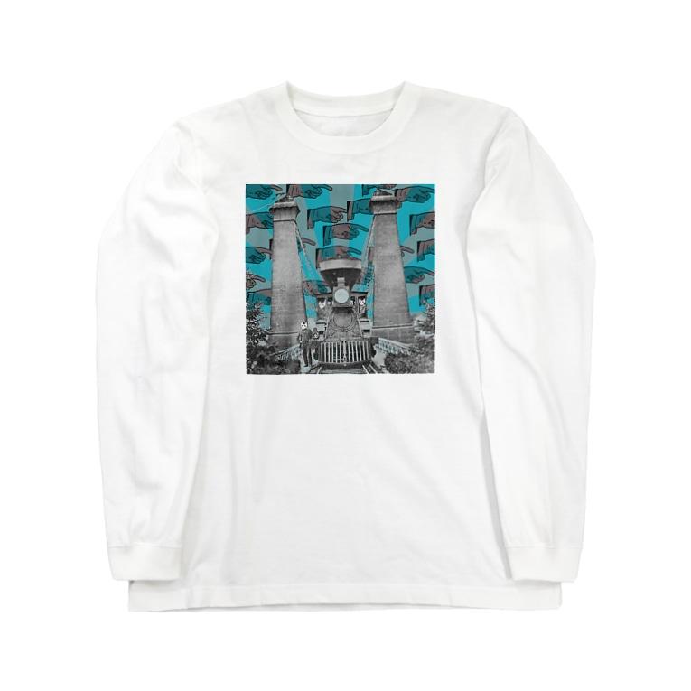 キネオラマのロング・グッドバイ Long sleeve T-shirts