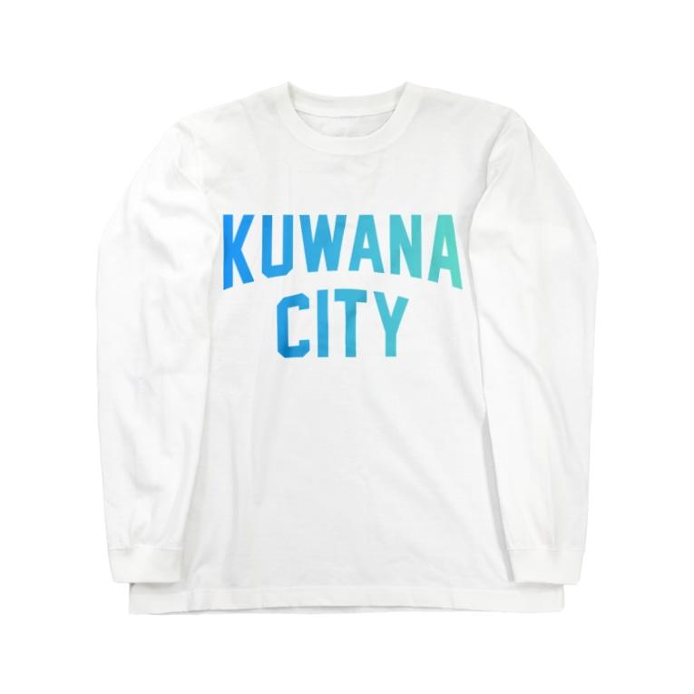 JIMOTO Wear Local Japanの桑名市 KUWANA CITY Long sleeve T-shirts