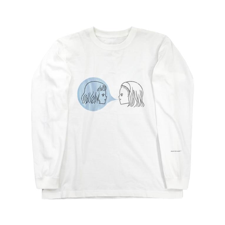 akira muraccoの私たちは友達ロンT Long sleeve T-shirts