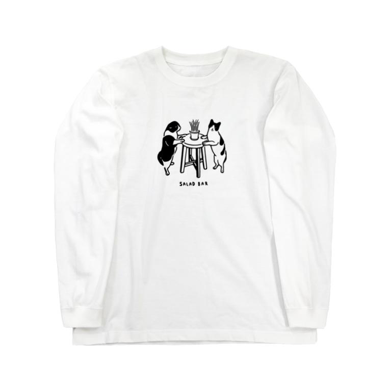 へるのサラダバー Long sleeve T-shirts