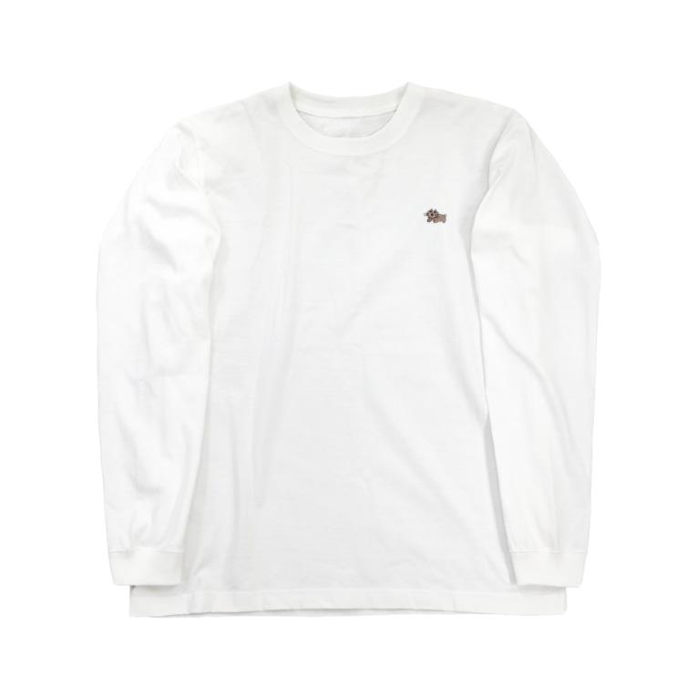イロハニ堂のウォンバットさん Long sleeve T-shirts