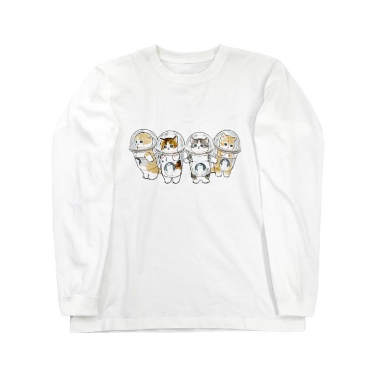 mofusandの防御力ZERO宇宙服 Long sleeve T-shirts