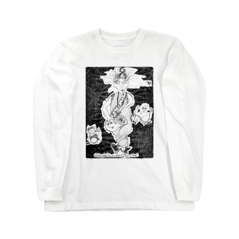 沢ちゃん♪のDrive_black Long sleeve T-shirts