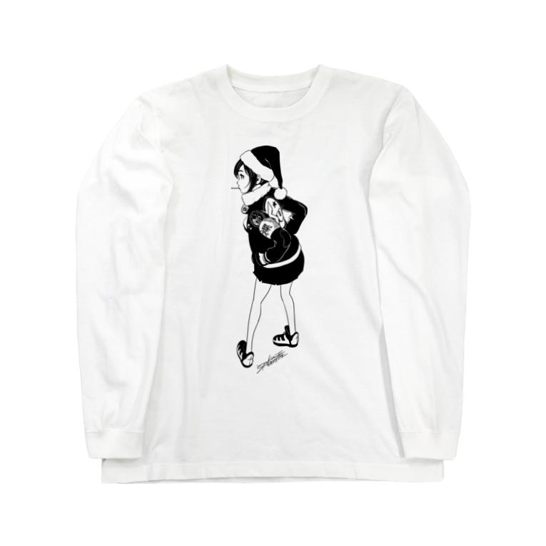 SPC SHOP!!!!!のSanta Clause Long sleeve T-shirts