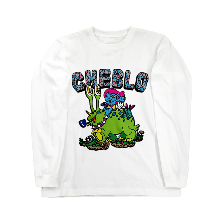 CHEBLOのCHEBLO'S Long sleeve T-shirts