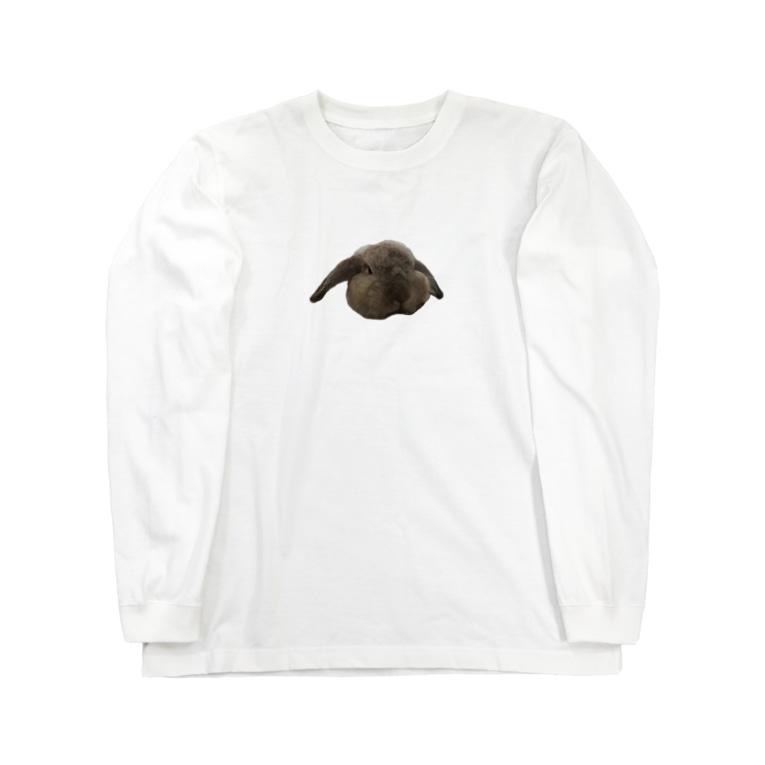 しろきののくろちゃん Long sleeve T-shirts