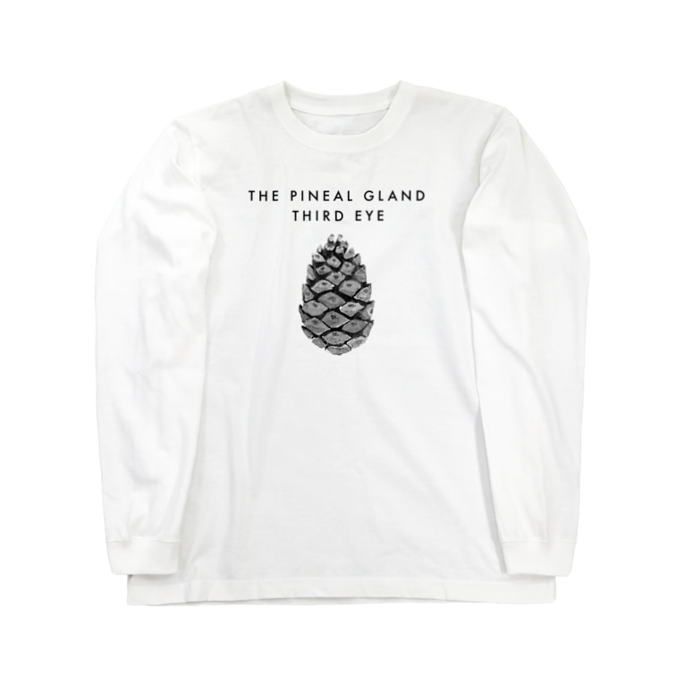 A2C COLLECTIONの松果体2 Long sleeve T-shirts