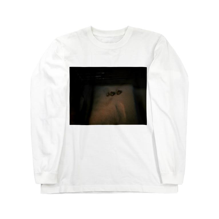ま、の冬の田舎の冷蔵庫 Long sleeve T-shirts
