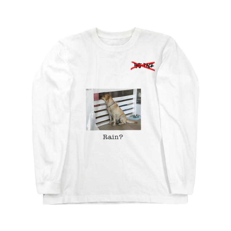 RAF FACEのRain dog  Long sleeve T-shirts