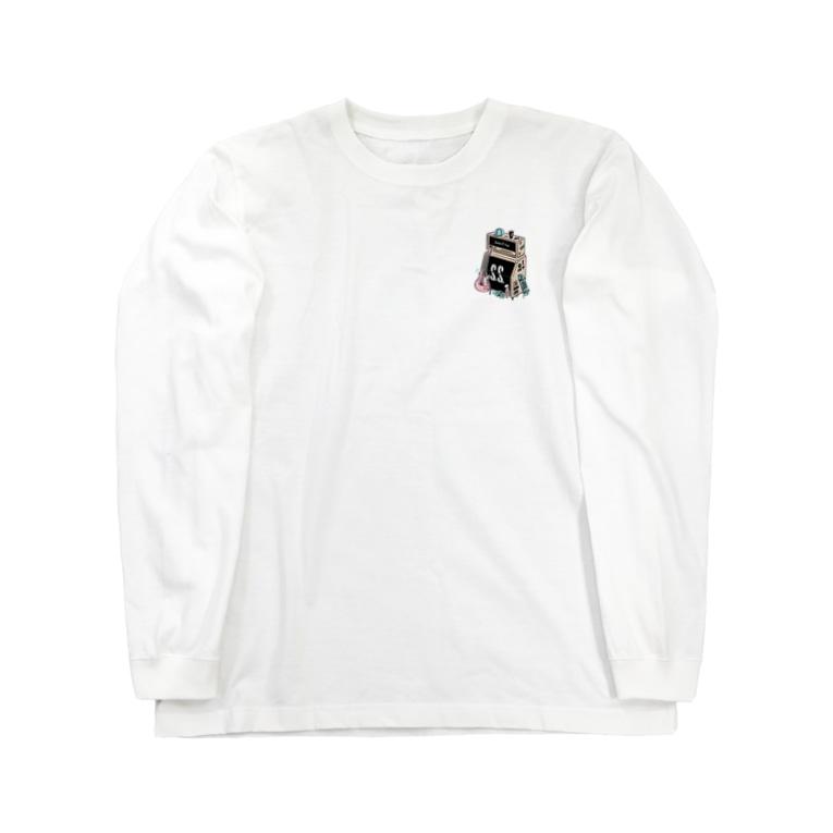 SAKAE SP-RING オフィシャルグッズ売場の出演者名記載ありVer. サカスプ2021アンプ Long sleeve T-shirts
