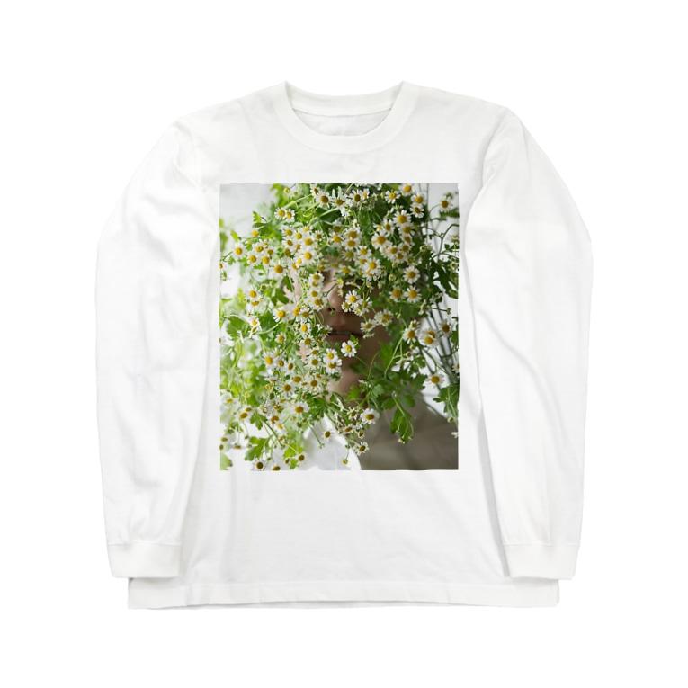 harucameraのharucamera マトリカリア Long sleeve T-shirts
