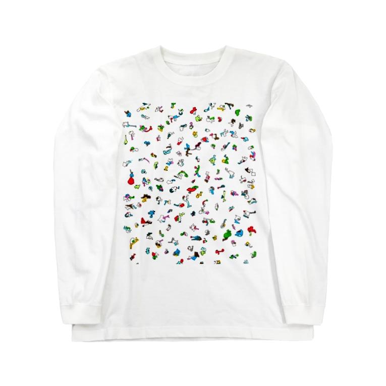alp【 art love peace】のぴと Long sleeve T-shirts