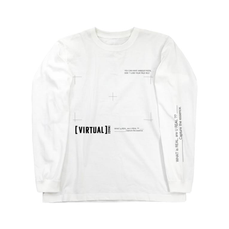 coco70の[ VIRTUAL ] IMAGE - T Long Sleeve T-Shirt