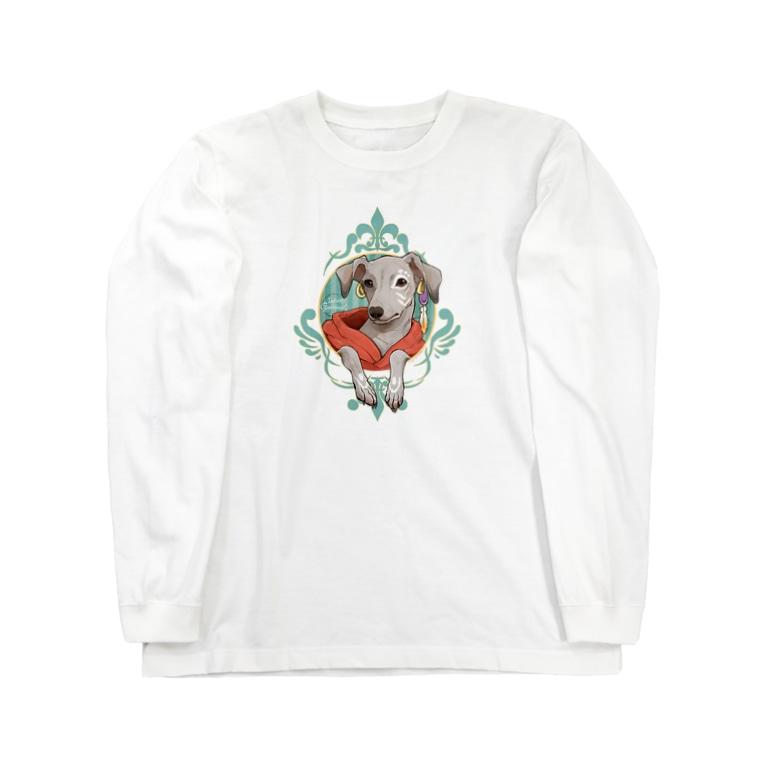 ARATA HOUSE GOODSのまなざし イタグレ Long Sleeve T-Shirt