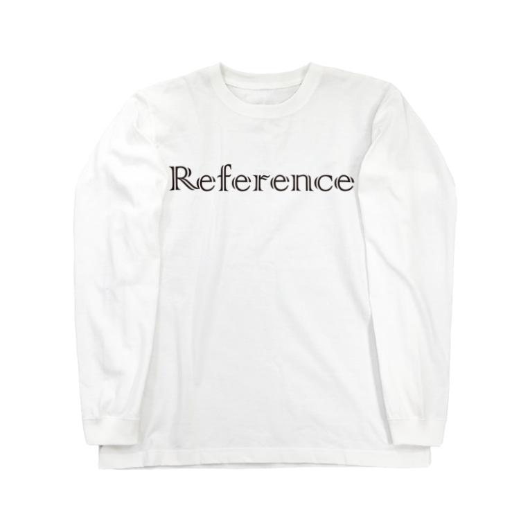 エルデプレスのReference Long sleeve T-shirts