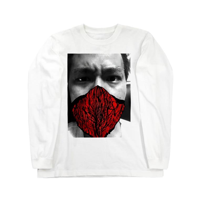 Keita Roimoの燃える柴 Long sleeve T-shirts
